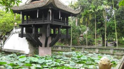 one pilar pagoda-Hanoi-city-tour