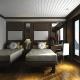 Twin room on Halong Alisa cruise