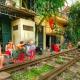 drink beside Hanoi city tour