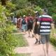 huge garden in ethnic museum- hanoi city tour full day