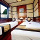 deluxe cabin on halong 3 days 2 nights