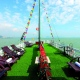 relax on cruise topdeck
