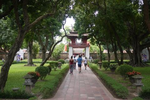 Hanoi city tour- the temple of literature