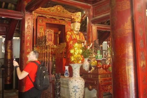 inside temple of literature
