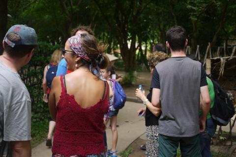 Enjoy walking in Vietnam ethnic museum