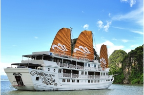 Over view Paradise cruise- Viet Unique Tour