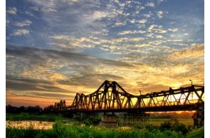 Boat Trip on The Red River travel, viet ant travel, hanoi travel, bat trang travel
